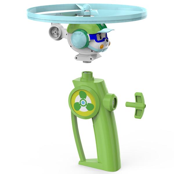Véhicule Flying Heli Robocar Poli de Ouaps