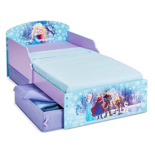 Petit lit enfant reine des neiges