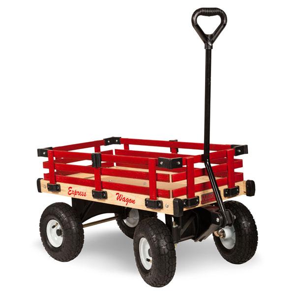 chariot express wagon rouge de radio flyer. Black Bedroom Furniture Sets. Home Design Ideas