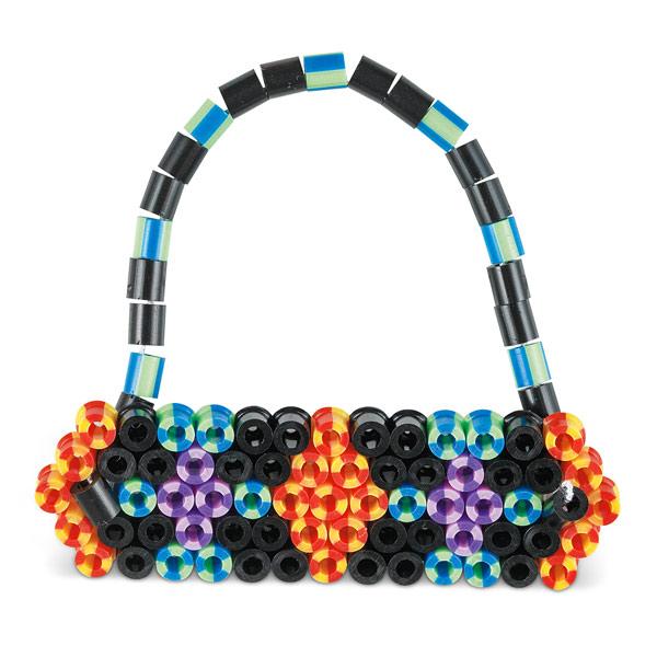 Boîte Perles multicolores