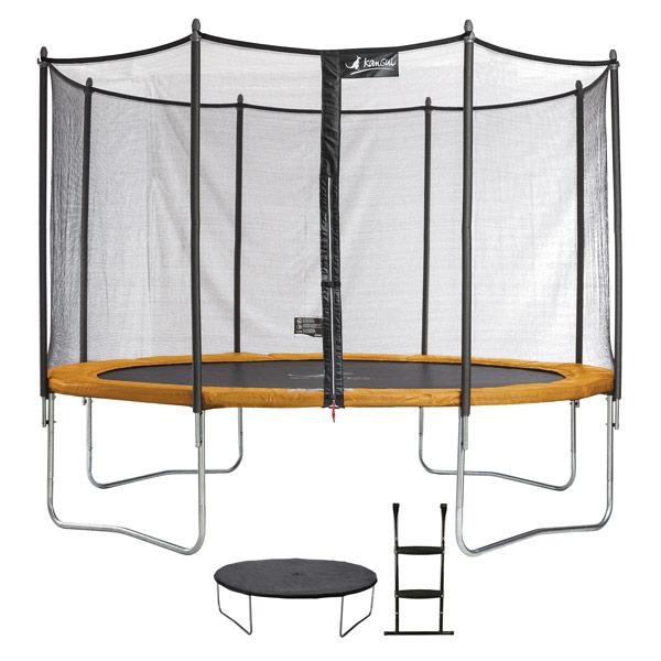 Trampoline Funni Pop 360 avec échelle et couverture