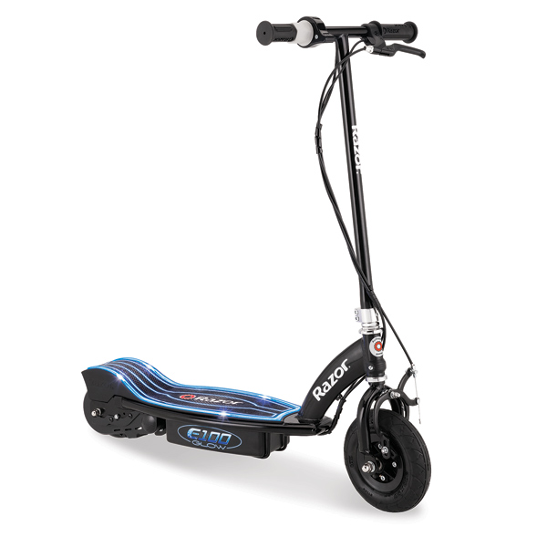 jeu jouet sport jeux plein air velos tricycles ref  patinette razor e glow noire