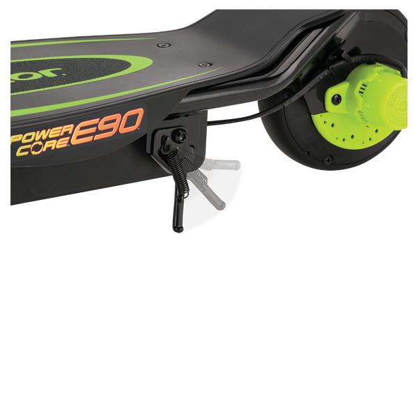jeu jouet sport jeux plein air velos tricycles ref  trottinette electrique power core e verte