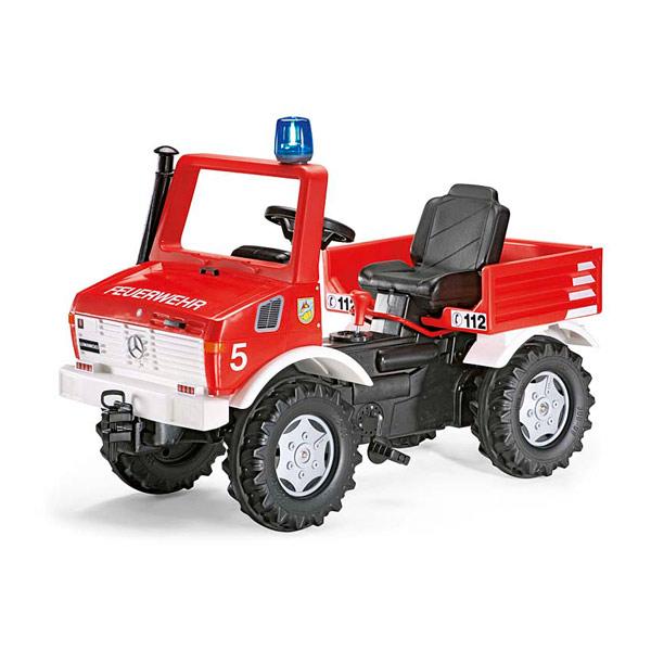 camion de pompier unimog rolly toys king jouet voitures. Black Bedroom Furniture Sets. Home Design Ideas