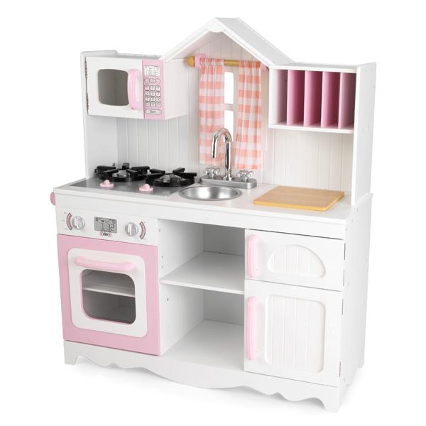 Cuisine campagnarde moderne kidkraft king jouet cuisine - Avis cuisine kidkraft ...