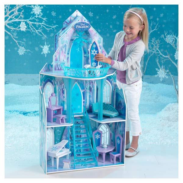 ch teau reine des neiges kidkraft king jouet. Black Bedroom Furniture Sets. Home Design Ideas