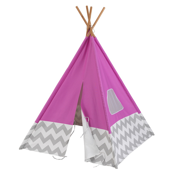 Tipi chevron rose