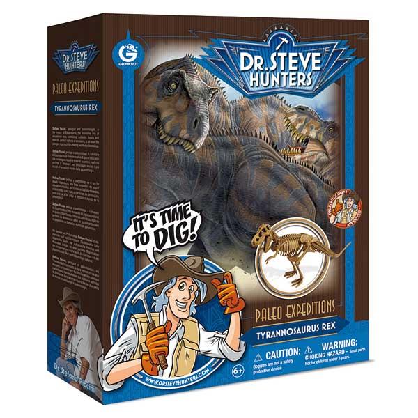Découvrez une collection originale de créatures préhistoriques : chaque modèle est faite par les sculpteurs qui reproduisent fidèlement les restes fossiles des géants du passé. Ce kit contient le modèle de dinosaure : Tyrannosaurus Rex. Contenu : - un car