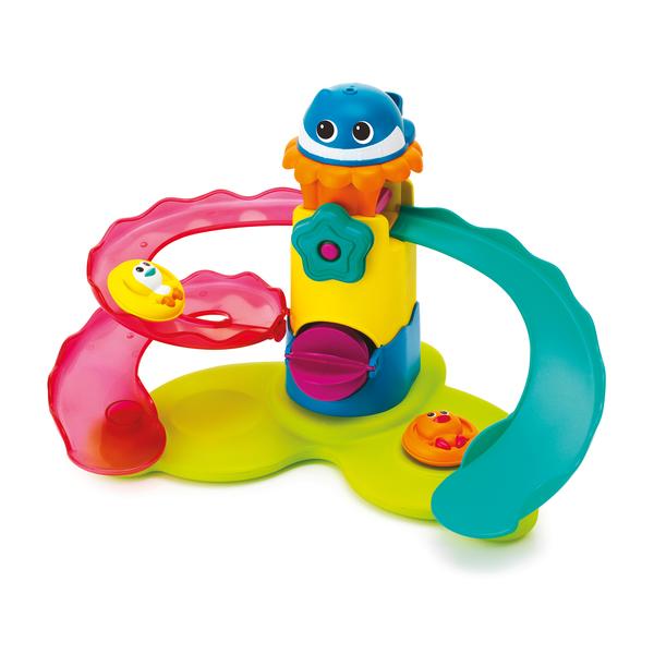 Toboggan de bain bkids king jouet activit s d 39 veil bkids jeux d 39 veil - Toboggan king jouet ...
