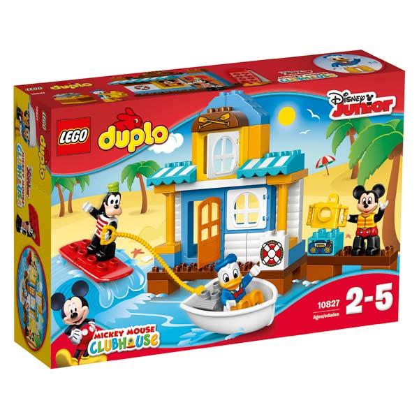 10827 la maison la plage de mickey et ses amis lego king jouet lego planchettes autres. Black Bedroom Furniture Sets. Home Design Ideas