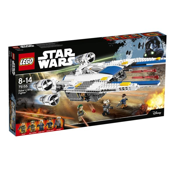 75155 lego star wars rebel u wing fighter lego king. Black Bedroom Furniture Sets. Home Design Ideas