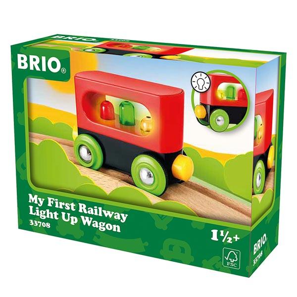 Brio 33708-mon premier wagon lumineux
