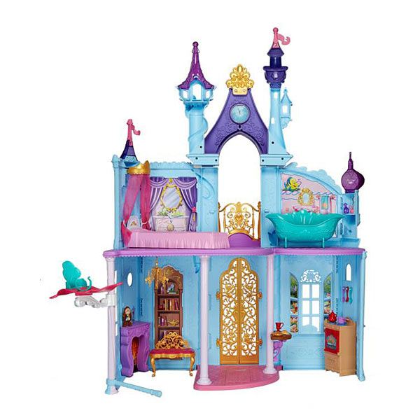 disney princesses ch teau de princesses hasbro king jouet jeux d 39 imitation mondes. Black Bedroom Furniture Sets. Home Design Ideas