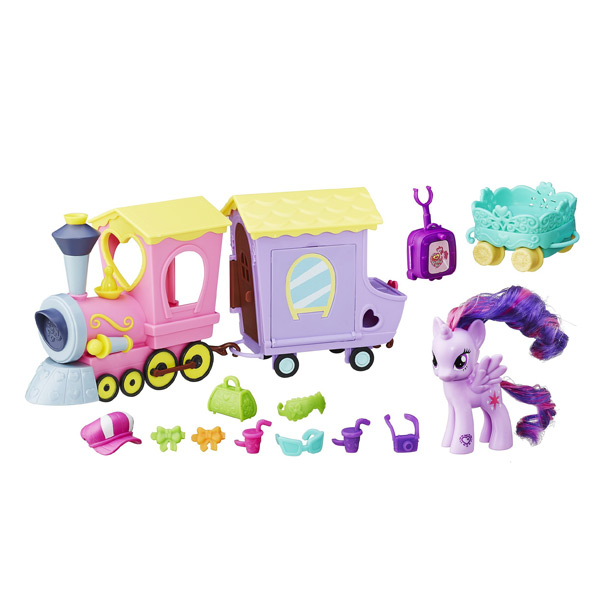 My Little Pony le train de l