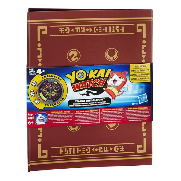 yo kai watch album collector hasbro king jouet h ros. Black Bedroom Furniture Sets. Home Design Ideas