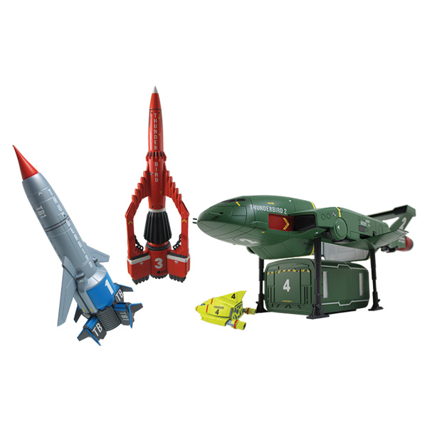 Thunderbirds Super Set 4 Véhicules