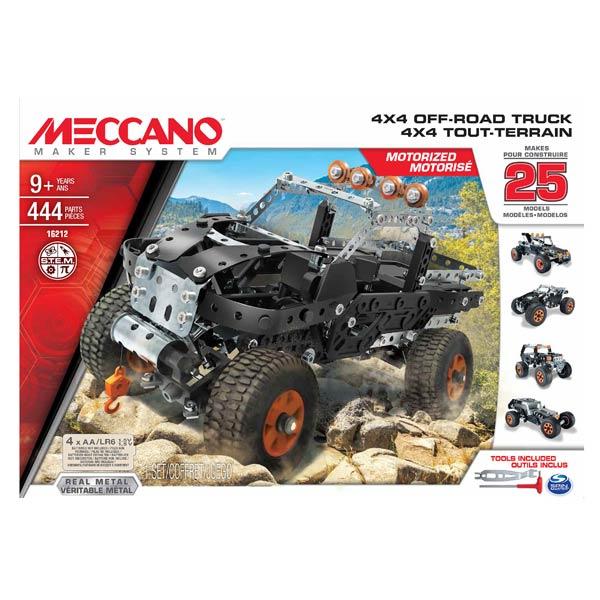 pick up motoris 25 mod les meccano meccano king jouet. Black Bedroom Furniture Sets. Home Design Ideas