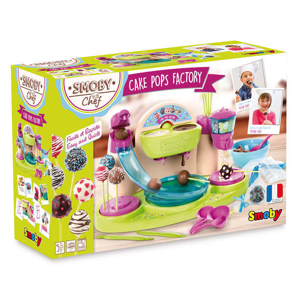 Cake Pop Factory Chef + 4 Recettes