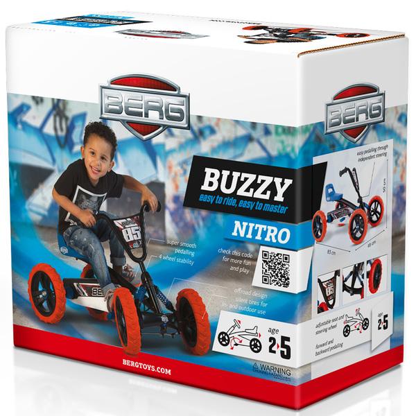 Kart à pédales Buzzy Nitro