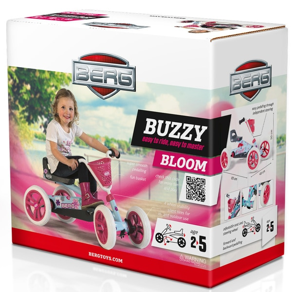 Kart à pédales Berg Buzzy Bloom