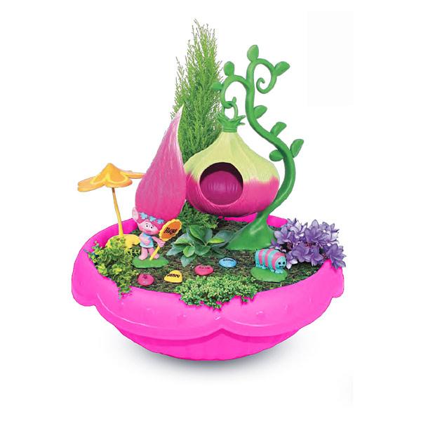 Trolls mini jardin poppy modelco king jouet h ros for Maison de jardin jouet