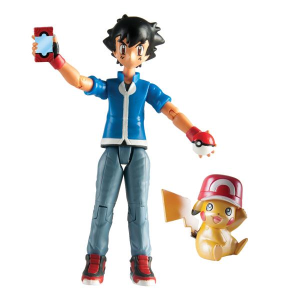 Coffret collector 20 ans figurines de Sacha et Pikachu