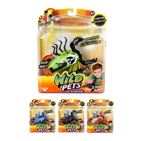 Scorpion interactif Wild Pets