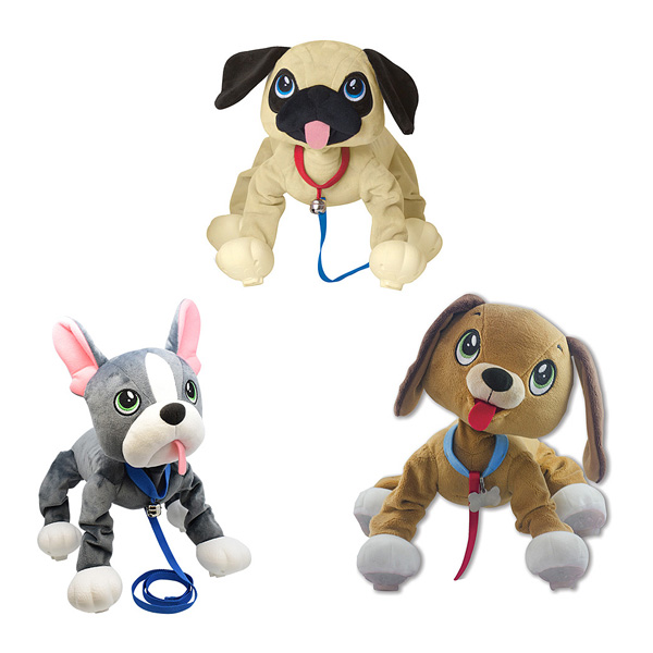 Les Peppy Pups toufous - Chien assortiment Giochi : King