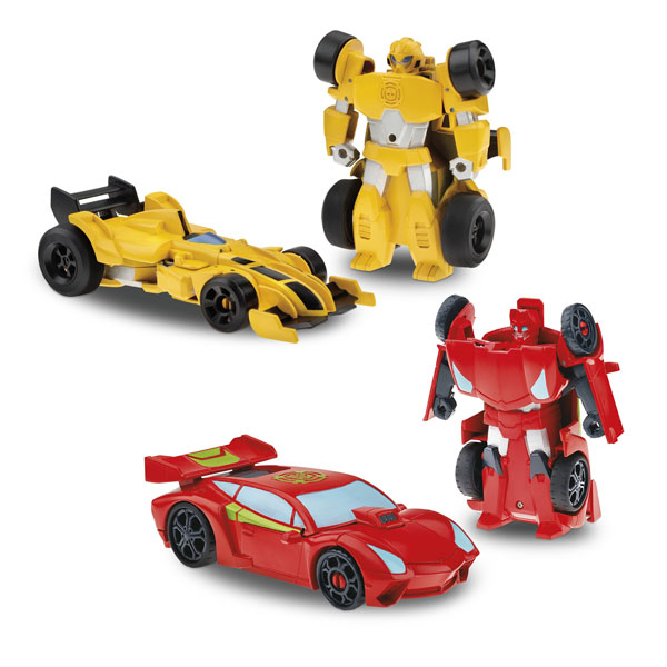 Transformers rescue bots rescue racers-2 retrofriction 16 cm de Playskool
