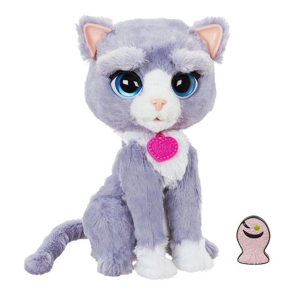 Furreal friends bootsie mon chat hasbro king jouet peluches interactives hasbro poup es - Moustache mon chat hasbro ...