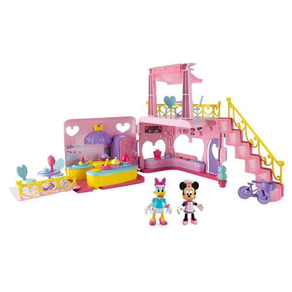 restaurant de minnie imc king jouet figurines imc. Black Bedroom Furniture Sets. Home Design Ideas