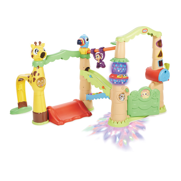 parc d 39 activit s jungle little tikes king jouet. Black Bedroom Furniture Sets. Home Design Ideas