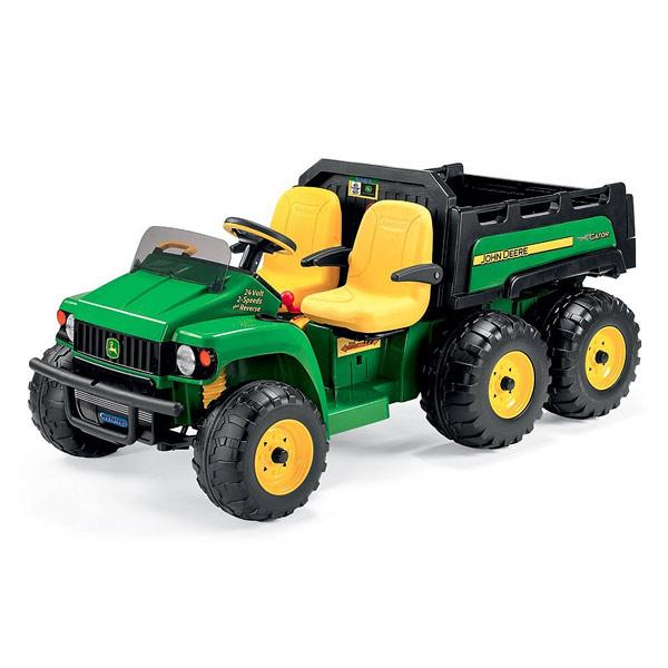 tracteur john deere gator hpx 6x4 peg perego king jouet v hicules lectriques peg perego. Black Bedroom Furniture Sets. Home Design Ideas