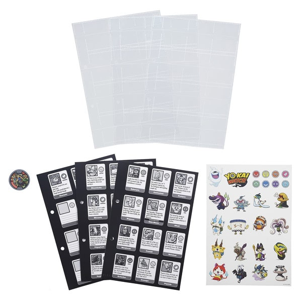 Yo-kai recharges de pages album collector