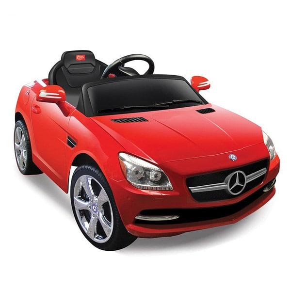 voiture lectrique mercedes slk rouge de f style electric. Black Bedroom Furniture Sets. Home Design Ideas
