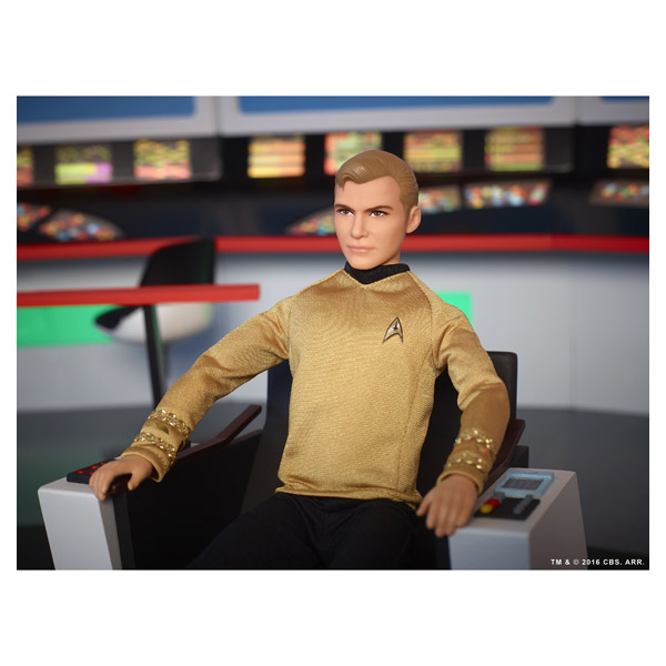 Barbie Star Trek Kirk