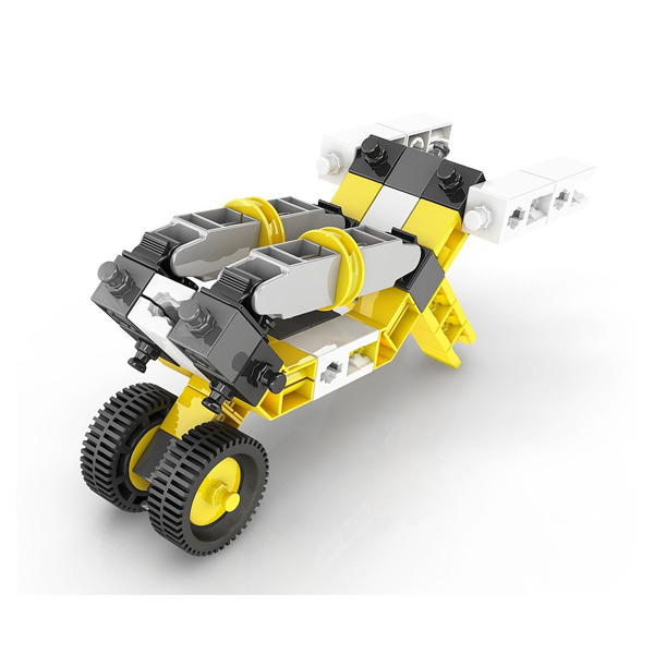 Inventor 4 modèles de véhicules industriels