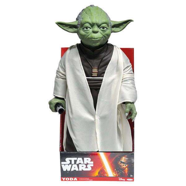 star wars figurine ma tre yoda polymark king jouet. Black Bedroom Furniture Sets. Home Design Ideas