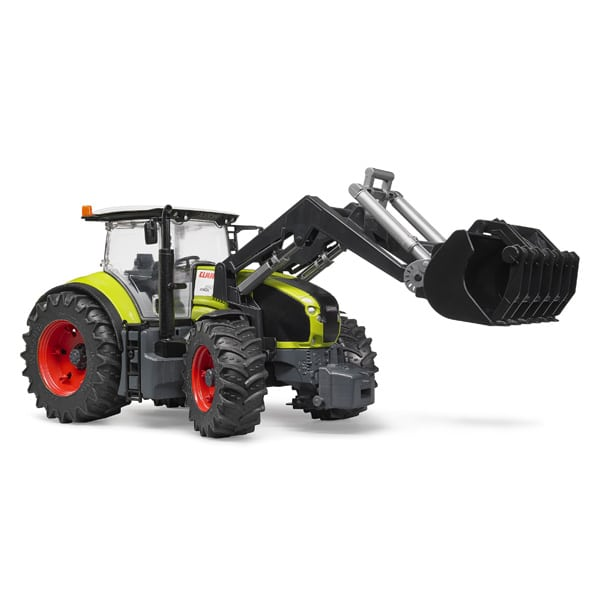 tracteur claas axion 950 avec fourche de bruder. Black Bedroom Furniture Sets. Home Design Ideas