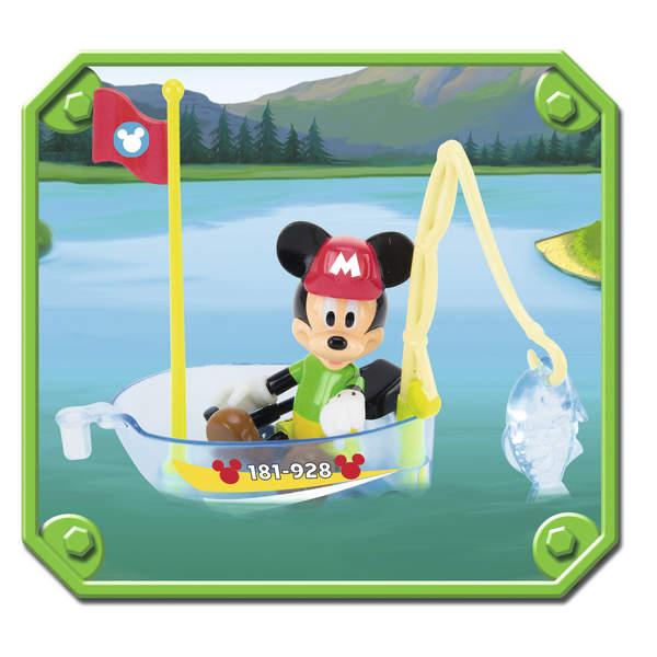 Voiture et bateau Mickey