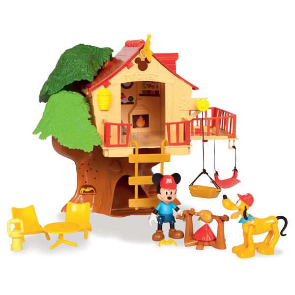 maison dans l 39 arbre mickey imc king jouet h ros. Black Bedroom Furniture Sets. Home Design Ideas