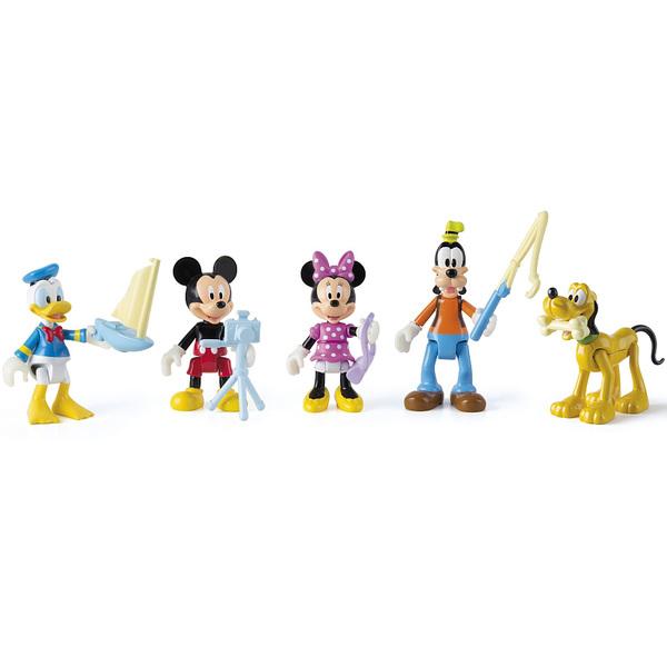 Pack de 5 figurines de mickey et ses amis