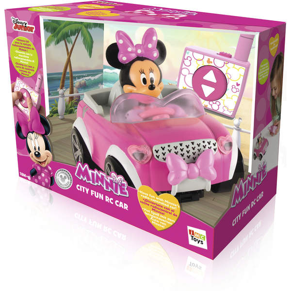 Voiture radiocommand e minnie imc king jouet voitures - Voiture minnie ...