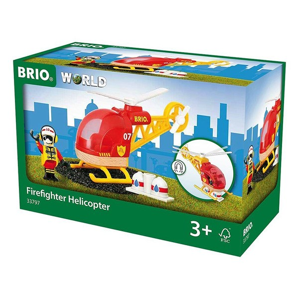 Brio 33797-Helicoptere des pompiers