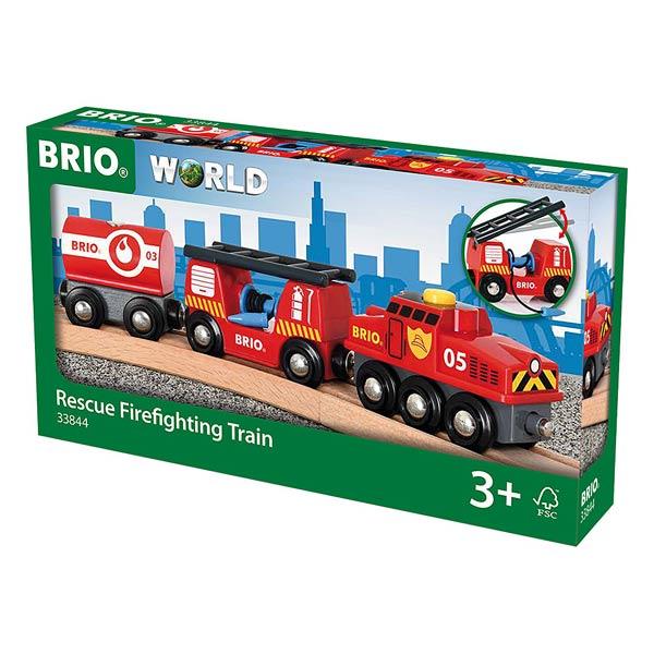 Brio 33844-Train des pompiers