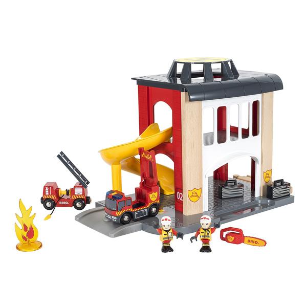 caserne de pompiers brio king jouet h ros univers. Black Bedroom Furniture Sets. Home Design Ideas