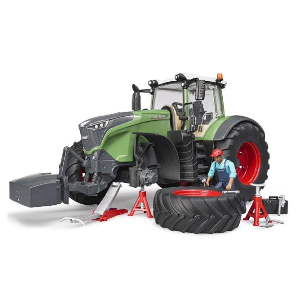 Tracteur Fendt 1050 Vario avec mecanicien et accessoires de depannage