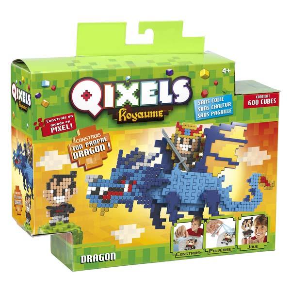 Qixels Kit Dragons Kanai Kids King Jouet Lego