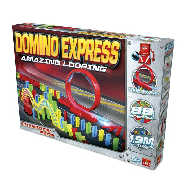 Domino express looping champion race