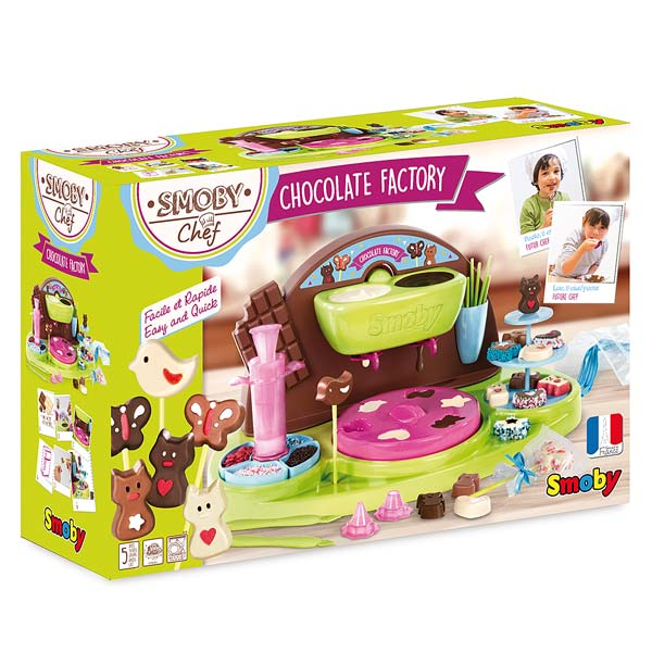 Chocolate factory chef 1 livre de cuisine smoby king for Cuisine king jouet